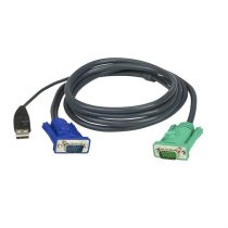 ATEN KVM Kábel USB VGA 1.8m