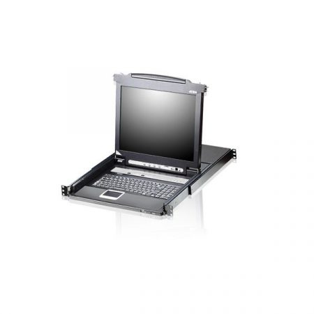 """ATEN KVM Konzol LCD 19"""" + Switch, 8 port - CL5708N"""