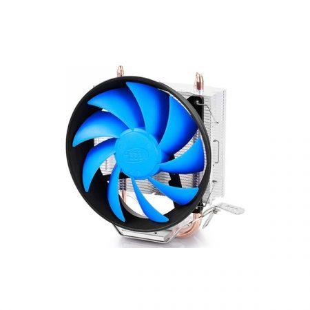 DeepCool CPU Cooler - GAMMAXX 200T (17,8-26,1dB; max. 92,17 m3/h; 3pin csatlakozó; 2 db heatpipe, 12cm, PWM)