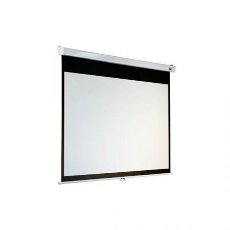 """EliteScreens 100"""" (4:3) manuális fali vászon M100VSR-Pro (203 x 152 cm, Fehér váz)"""