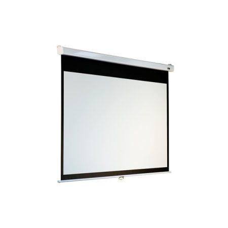 """EliteScreens 120"""" (4:3) manuális fali vászon M120VSR-Pro (244 x 183 cm, Fehér váz)"""