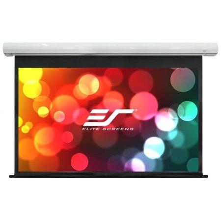 """EliteScreens 100"""" (16:9) motoros fali vászon Saker SK100XHW-E12 (222 x 125 cm, Fehér)"""