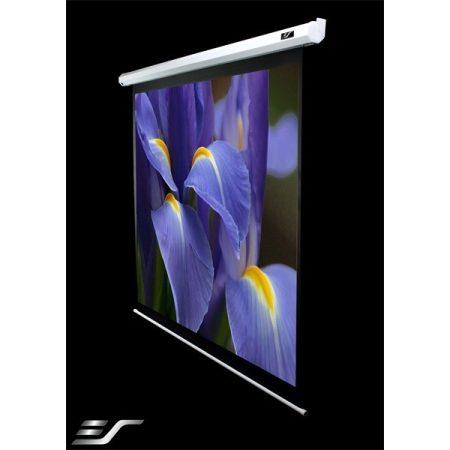 """EliteScreens 100"""" (16:9) motoros fali vászon VMAX2 VMAX100XWH2-E24 (222 x 125 cm, Fehér)"""
