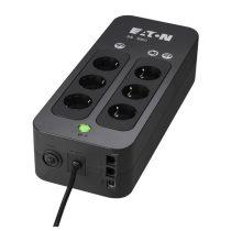 EATON szünetmentes 550VA - 3S550DIN (6 Schuko kimenet, Standby, USB, vonal védelem, szoftver)