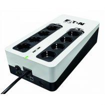 EATON szünetmentes 700VA - 3S700D (8 Schuko kimenet, Standby, USB, vonal védelem, szoftver)