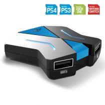 Spirit of Gamer Egér/Billentyűzet adapter konzolokhoz - SOG-CONV1 (3x USB-A, 2x USB-C, Nintendo/PS4/PS3/Xbox One)