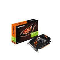 Gigabyte Videókártya - nVidia GT1030 (2048MB, DDR5, 64bit, 1265/6008Mhz, DVI, HDMI, Single Slot Ventilátor)