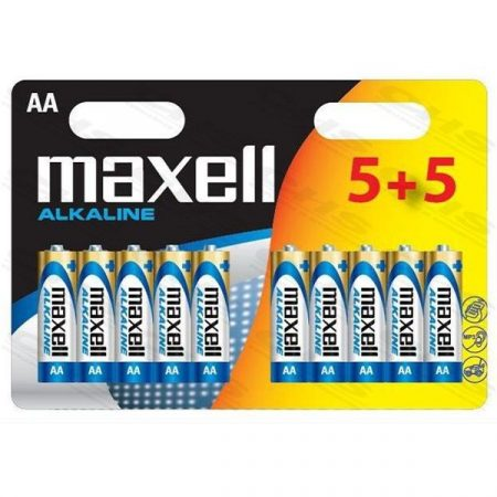 MAXELL Alkálielem LR-6 AA 10db-os