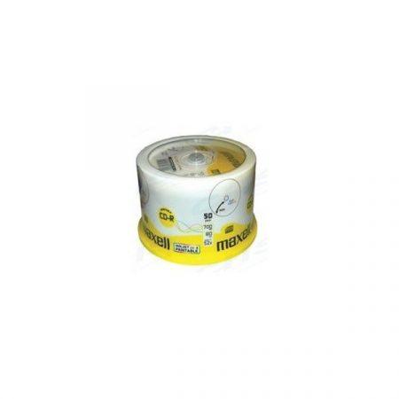 MAXELL CD lemez CD-R80 50db/Henger 52x, Nyomtatható