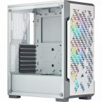 Corsair iCUE 220T RGB Airflow Tempered Glass White