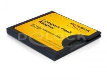 Delock Compact Flash adapter > microSD memória kártyákhoz