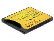 Delock Compact Flash-adapter > iSDIO (WiFi SD), SDHC, SDXC memóriakártyához, 25Mbps