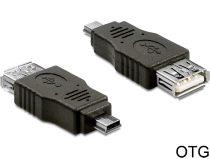 Delock USB mini apa > USB 2.0-A anya adapter OTG