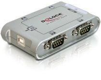 Delock USB 2.0 – 4 soros port adapter