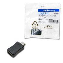 LogiLink Mini USB anya - micro USB apa adapter