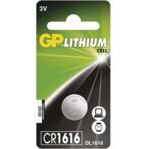 GP CR1616 lítium gombelem 1db/bliszter