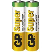 GP Super alkáli 15A 2db/zsugorfólia (AA) ceruza elem