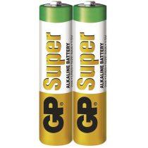 GP Super alkáli 24A 2db/zsugor (AAA) mikro ceruza elem