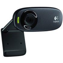 Logitech C310 720p mikrofonos fekete webkamera