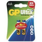 GP Ultra Plus AAA (LR03) elem 2db/bliszter