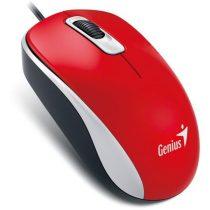 Genius DX-110 USB piros-fekete egér