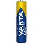 Varta Longlife Power AAA (LR03) alkáli mikro ceruza elem 6 db/bliszter