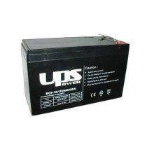 Akku UPS Power 12V 9Ah zselés akkumulátor