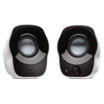 Logitech Z-120 jack USB 2.0 hordozható fehér-fekete hangszóró
