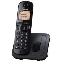 Panasonic KX-TGC210PDB hívóazonosítós kihangosítható fekete dect telefon
