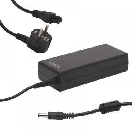 Delight 19V 4,74A 90W 5,5//1,7mm univerzális laptop/notebook töltő adapter tápkábellel 55366