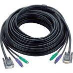 ATEN KVM Kábel PS/2 és VGA,   5m - 2L-1005P