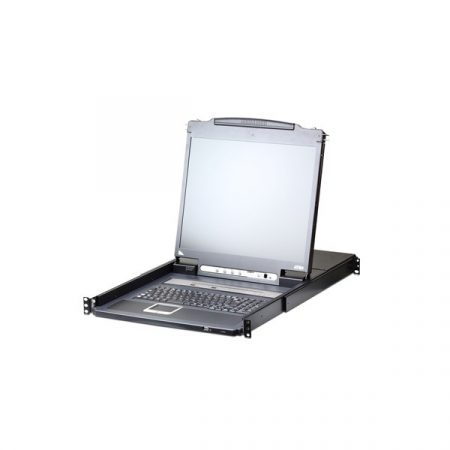 "ATEN KVM Konzol LCD 17"" + Switch IP, 8 port - CL5708IM"