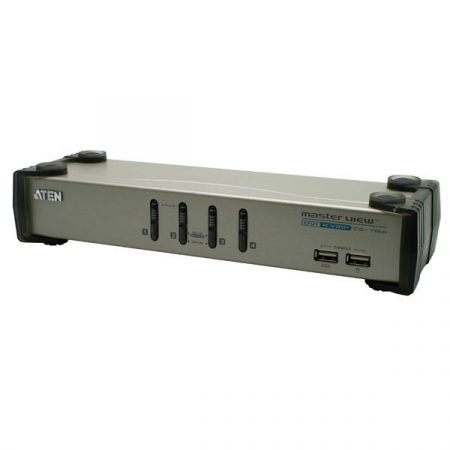 ATEN KVM Switch USB DVI + Audio, 4 port - CS1764