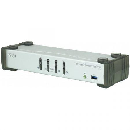 ATEN KVMP Switch USB, DisplayPort + Audio, 4 port - CS1914