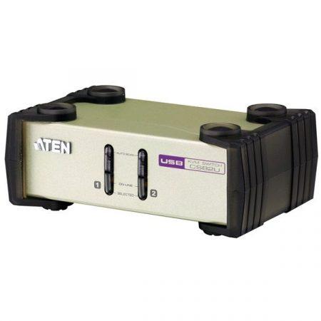 ATEN KVM Switch USB - PS/2 VGA, 2 port - CS-82U