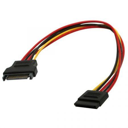 ROLINE Kábel SATA táp hosszabbító,   0,3m