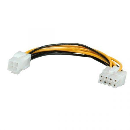 ROLINE Tápkábel PCI Express 8 pin,   0,15m