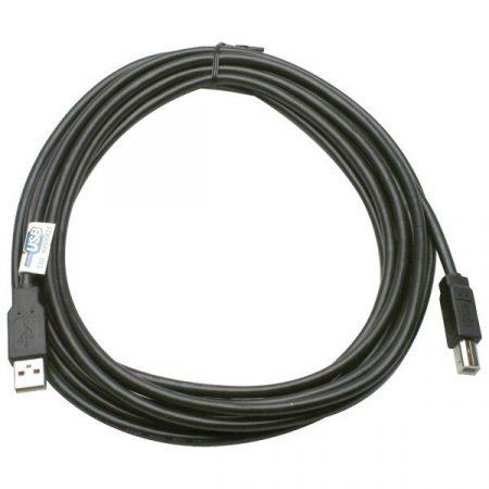 ROLINE Kábel USB 2.0 A - B,   4,5m