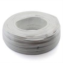 Riasztó kábel 2x0,5 + 8x0,22 riasztókábel, hajlékony, árnyékolt
