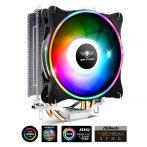 Spirit of Gamer CPU Cooler - CPU AIRCOOLER 120 MM ARGB (27dB; 2500 RPM; 1x12cm; aluminium/réz)