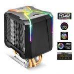 Spirit of Gamer CPU Cooler - CPU AIRCOOLER PRO ARGB (27dB; 1600 RPM; 1x12cm; aluminium/réz)