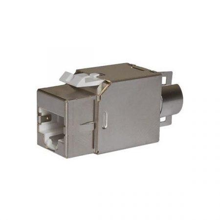 Legrand keystone - Cat6, STP, Connect 110 betűzős bekötésű, 180°, 1Gigabit (Linkeo patch panelekhez)