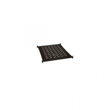 """Legrand Rackszekrény polc - (19"""", 1U, fix, 1000 mm mély, 4 ponton rögzíthető, 50kg, Linkeo, Fekete)"""