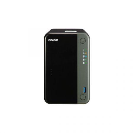 QNAP NAS - TS-253D-4G (2HDD hely, Intel Celeron QC J4125 2.0GHz, 4GB RAM, SATA, PCIe, 2xRJ-45, 3xUSB3.0, HDMI)