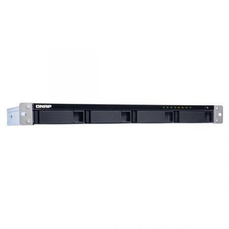 QNAP NAS - TS-431XeU-2G (1U Rack, 4HDD hely, Alpine QC AL-314 1.7GHz, 2GB RAM, SATA, 10 GbE SFP+, 2x GbE, 4x USB3.0)