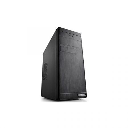 DeepCool Számítógépház - WAVE V2 (fekete, fekete belső, mATX, 1xUSB3.0, 1xUSB2.0)
