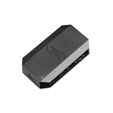 DeepCool Ventilátor tápkábel elosztó - FH-10 (10 db 4pin, SATA)