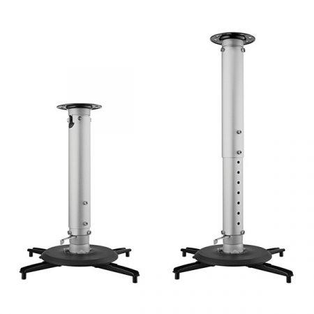 BenQ Projektor konzol - CM00G3 - mennyezeti, dönthető, forgatható, univerzális (táv:127-577mm, +-25fok, 360fok, 25kg)