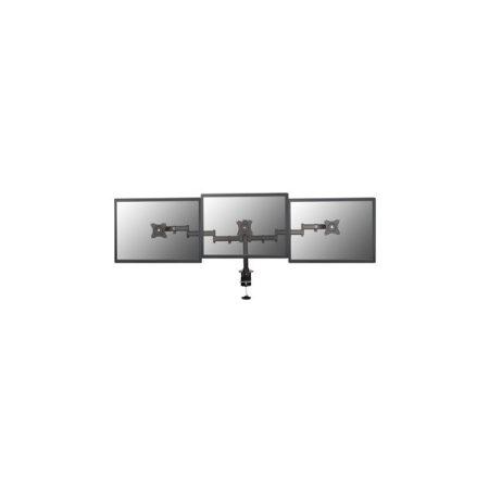"""Equip Monitor Asztali konzol - 650116 (13""""-27"""", 3 monitor, dönthető, forgatható, állítható magasság Max.: 8kg, fekete)"""