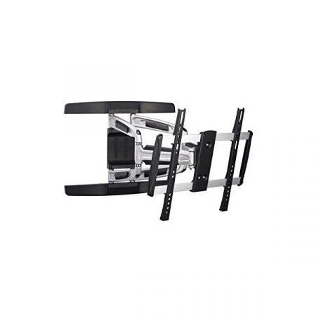 """Equip TV Fali konzol - 650314 (32""""-55"""", forgatható, dönthető, Max.: 50kg, fekete/ezüst)"""
